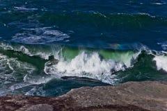Liten havsvåg royaltyfri fotografi