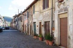 Liten by, Italien Royaltyfri Foto