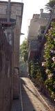 Liten italiensk sjösida town7 Arkivbilder