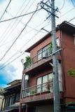Liten japansk byggnad Fotografering för Bildbyråer