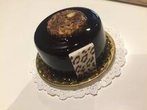 Liten kaka för härlig choklad Arkivfoto