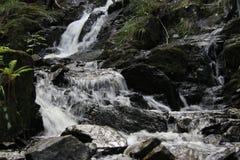 Liten kaskad av vattenfall royaltyfri fotografi