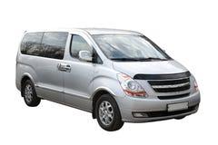 liten kompakt minivan Royaltyfri Bild