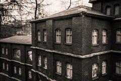 Liten kopia av fabriken Royaltyfri Foto