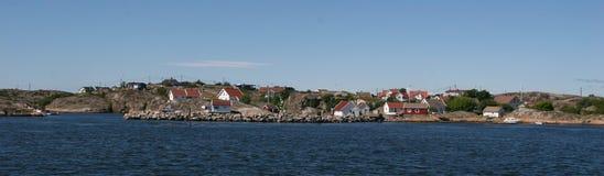 liten kust- gemenskap Royaltyfria Bilder