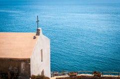 Liten kyrka av balaien - sardinia Royaltyfri Foto