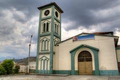 Liten kyrka i Cali Royaltyfri Foto