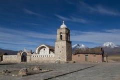 Liten kyrklig Sajama nationalpark, Bolivia Royaltyfri Foto