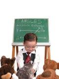 liten lärare för serie för manhusdjur s Royaltyfri Bild