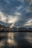 liten lake Fotografering för Bildbyråer