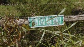 Liten lantgård på Route 66 i Oklahoma lager videofilmer