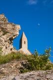 Liten lantlig kyrka Fotografering för Bildbyråer