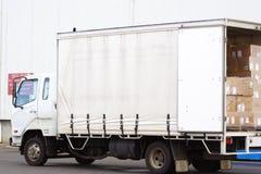 liten lastbil Royaltyfri Bild