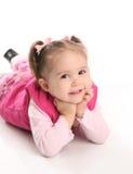 liten litet barn för gullig flicka royaltyfri fotografi