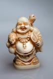 Liten ljus staty av Buddha Royaltyfri Fotografi