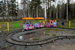 liten lokomotiv Royaltyfria Bilder