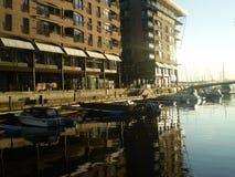 Liten marin- ine den dyraste staden Arkivfoto
