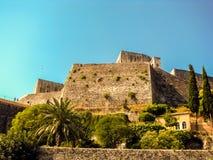 Liten mediteranean fästning Arkivbild