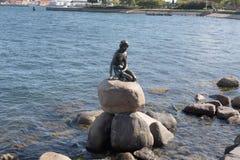 liten mermaid Fotografering för Bildbyråer