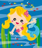liten mermaid Royaltyfria Bilder