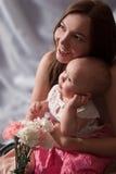 liten moder för dotter Royaltyfri Fotografi