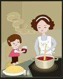 liten mommy s för hjälpreda Royaltyfri Illustrationer