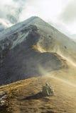 Liten monument i berg Royaltyfria Bilder