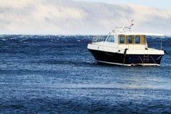 Liten motorboat arkivfoto