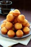liten muffinefterrätt Fotografering för Bildbyråer