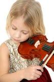 liten musiker Royaltyfri Bild