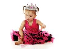 liten nätt princess Royaltyfria Bilder