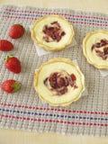 Liten ostmassaost bakar ihop med jordgubbedriftstopp Arkivbilder