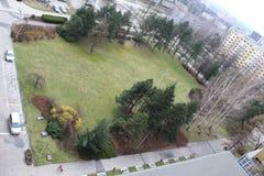 liten park Arkivfoton