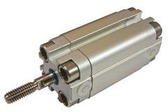 Liten pneumatisk cylinder royaltyfri bild