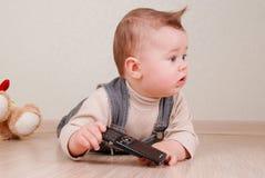 liten pojke Arkivfoto