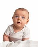 liten pojkestående Arkivfoto