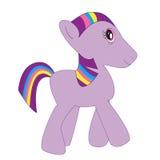 liten ponny Royaltyfria Foton