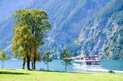 Liten port av Achenseehof, Tyrol (Österrike) Arkivbilder