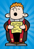 liten präst Royaltyfri Foto