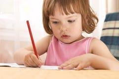 liten preschooler Arkivfoton