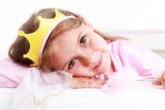 liten princess Arkivbilder