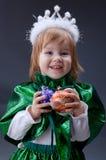 liten princess arkivfoto