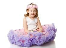 liten princess arkivbild