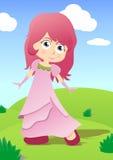 liten princess Royaltyfri Fotografi