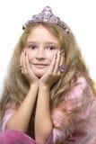 liten princess Royaltyfri Foto