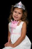 liten princess Arkivfoton