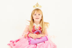 liten princess Royaltyfri Foto