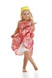 liten princess för danser Royaltyfria Foton