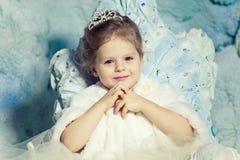 Liten prinsessa Royaltyfri Foto