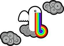 Liten regnbåge Arkivfoto